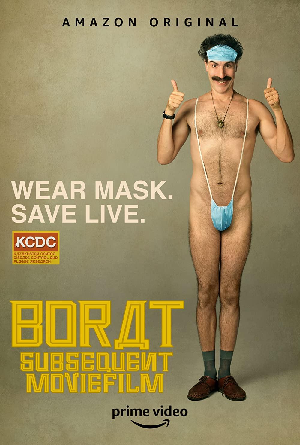 Borat Subsequent Moviefilm poster